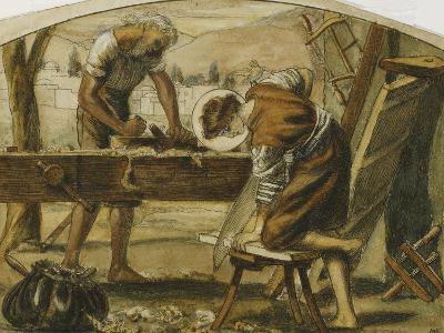 The Carpenter-Arthur Hughes-Giclee Print