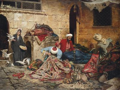 The Carpet Menders, 1883-Rudolf Der G. Swoboda-Giclee Print