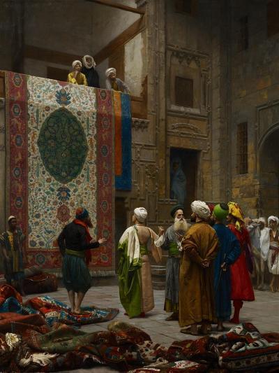 The Carpet Merchant, C.1887-Jean Leon Gerome-Giclee Print