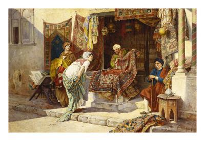 The Carpet Merchant-F^ Ballesio-Giclee Print