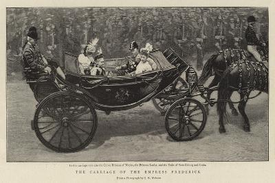 The Carriage of the Empress Frederick--Giclee Print