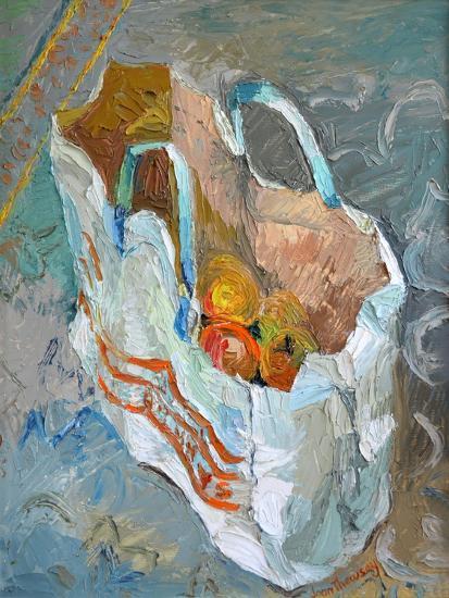 The Carrier Bag, 1981-Joan Thewsey-Giclee Print