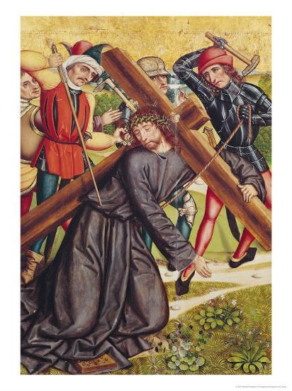 The Carrying of the Cross-Michael Wolgemut Or Wolgemuth-Giclee Print