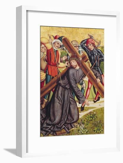 The Carrying of the Cross-Michael Wolgemut Or Wolgemuth-Framed Giclee Print