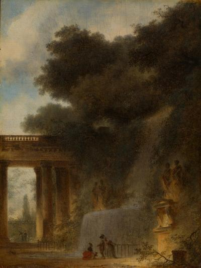 The Cascade, c.1775-Jean-Honore Fragonard-Giclee Print