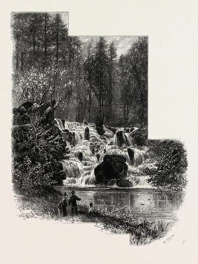 The Cascade, Virginia Water, Windsor, UK, 19th Century--Giclee Print
