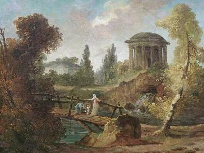 The Cascades at Tivoli, C.1775-Hubert Robert-Giclee Print