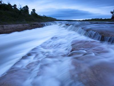 The Cascading Niobrara River-Michael Melford-Photographic Print