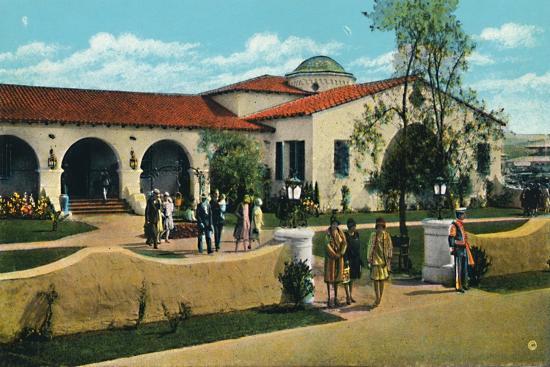 'The Casino, Agua Caliente', c1939-Unknown-Giclee Print