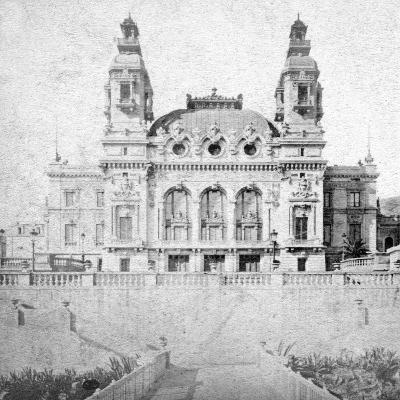 The Casino at Monte Carlo, Monaco, Late 19th Century-Alfredo Noack-Giclee Print