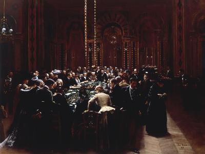 The Casino at Monte Carlo (Rien ne va plus), 1890-Jean B?raud-Giclee Print