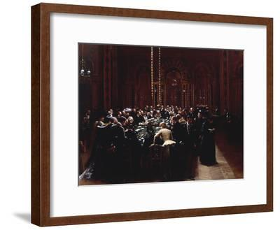 The Casino at Monte Carlo (Rien ne va plus), 1890-Jean B?raud-Framed Giclee Print
