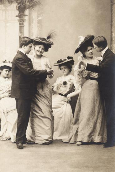 The Casino Ball, from the 'Fantaisies' Series, 1900--Photographic Print