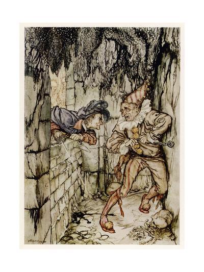 The Cask of Amontillado-Arthur Rackham-Giclee Print