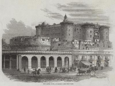 The Castel Nuovo, at Naples-Samuel Read-Giclee Print
