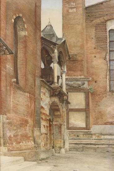 The Castelbarco Tomb-John Wharlton Bunney-Giclee Print