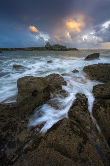 The Castle And The Sea-Mathieu Rivrin-Photographic Print