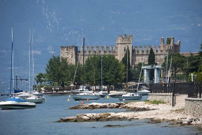 The Castle at Torre Del Benaco, Lake Garda, Italian Lakes, Veneto, Italy, Europe-James Emmerson-Photographic Print