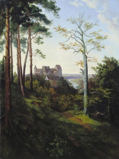 The Castle Colditz, 1828-Ernst Ferdinand Oehme-Giclee Print