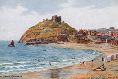 The Castle, Criccieth-Alfred Robert Quinton-Giclee Print