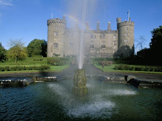 The Castle, Kilkenny, County Kilkenny, Leinster, Eire (Ireland)-Bruno Barbier-Photographic Print