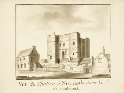 The Castle, Newcastle Upon Tyne--Giclee Print