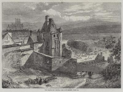 The Castle of Dieppe--Giclee Print