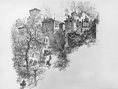 The Castle of Fratta-Isaac Sailmaker-Giclee Print
