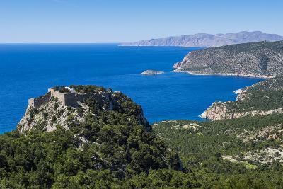 The Castle of Monolithos, Rhodes, Dodecanese Islands, Greek Islands, Greece-Michael Runkel-Photographic Print