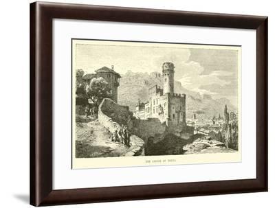 The Castle of Trent--Framed Giclee Print