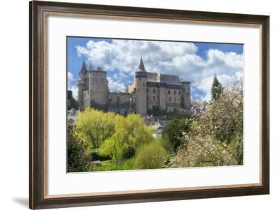 The Castle Of Vitre? In Spring-Cora Niele-Framed Photographic Print