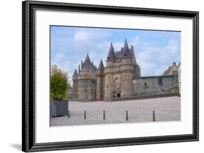 The Castle Of Vitre?-Cora Niele-Framed Photographic Print