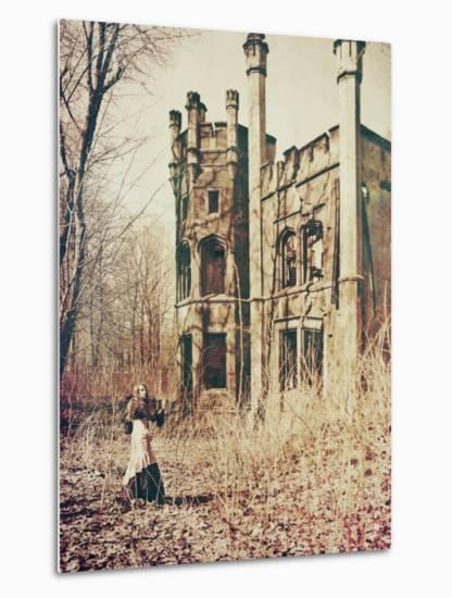 The Castle-Anna Mutwil-Metal Print