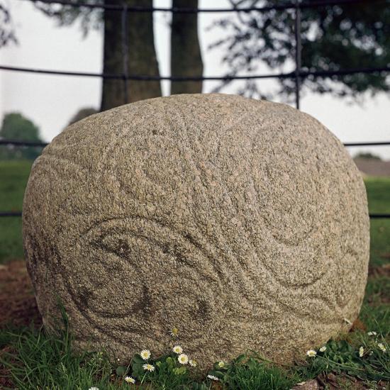 The Castlestrange Stone, 1st century. Artist: Unknown-Unknown-Giclee Print