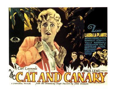 The Cat And The Canary - 1927 I--Giclee Print