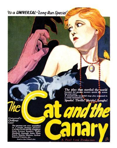 The Cat And The Canary - 1927 II--Giclee Print