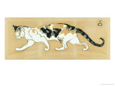 The Cat, le Chat-Th?ophile Alexandre Steinlen-Giclee Print