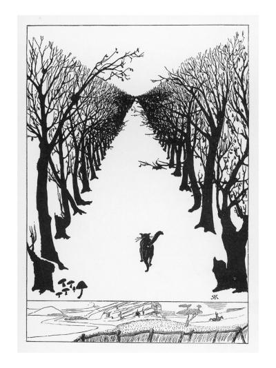 The Cat That Walked By Himself--Giclee Print