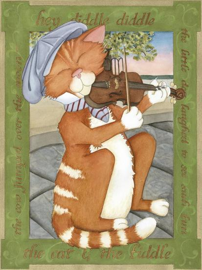 The Cat & The Fiddle-Tara Friel-Art Print