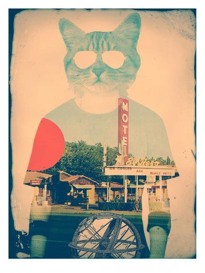 The Cat-Ali Gulec-Art Print