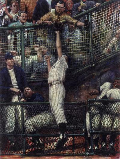 The Catch-Lance Richbourg-Giclee Print