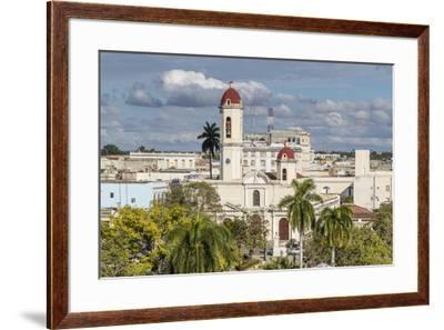 The Catedral de la Purisima Concepcion in Plaza Jose Marti, Cienfuegos, UNESCO World Heritage Site,-Michael Nolan-Framed Photographic Print