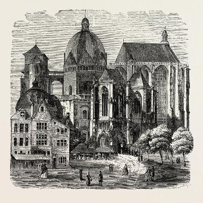 The Cathedral at Aix-La-Chapelle--Giclee Print