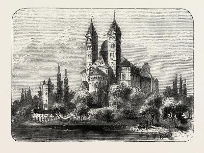 The Cathedral at Speyer Germany, 1882--Giclee Print