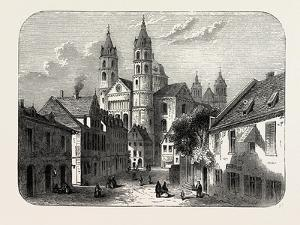 The Cathedral at Worms Germany, 1882