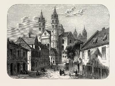 The Cathedral at Worms Germany, 1882--Giclee Print