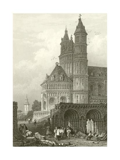 The Cathedral at Worms-Samuel Prout-Giclee Print