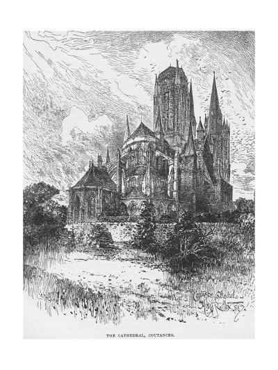 The Cathedral Coutances--Giclee Print