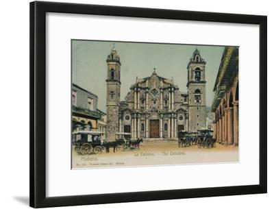 The Cathedral, Havana, Cuba, C1910