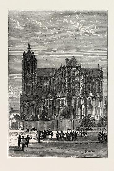 The Cathedral, Le Mans, France, 1871--Giclee Print